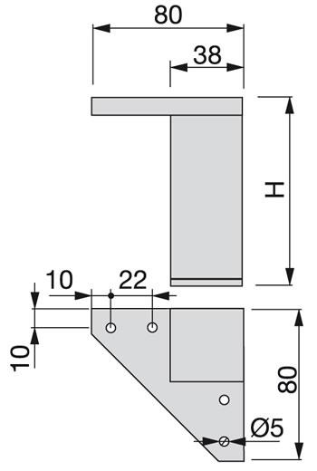 Pata Alumix de Emuca